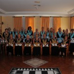 New WM Barbara Meadows with the members and visitors