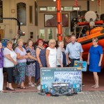 Colchester Lodge presents equipment to the RNLI
