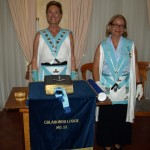 WM Jan Owens with the IPM Alexandra Schumann