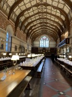 The magnificent Keble College Dining Hall