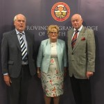 The GM with Dr Lomas and the PGM