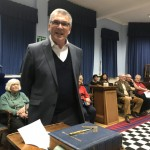 Nigel Codron, the Middx APGM