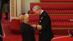 Woman Freemason honoured MBE