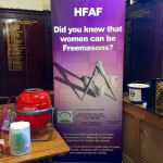 HFAF Banner finds a home at Sidcup Masonic Centre