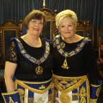 Provincial GM Pat Rothwell and GM Christine Chapman