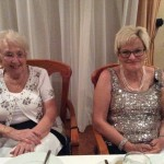The two guests of honour at the Festive Board