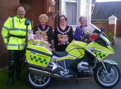 Prov GM, PPrGM and DPrGM with some of the teddies.